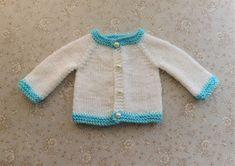 Ravelry: Tiny Topaz - Premature Baby Cardigan pattern by marianna mel Baby Cardigan Knitting Pattern Free, Baby Hats Knitting, Baby Knitting Patterns, Baby Patterns, Crochet Patterns, Crochet Hats, Knitting Dolls Clothes, Crochet Baby Clothes, Doll Clothes