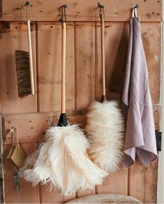 ostrich feather duster available from brush64. www.brush64.co.uk