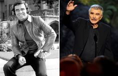Actores de los setenta: antes y ahora