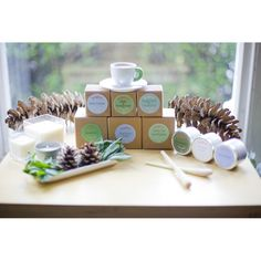 Some of the 'botanical' scents such as Green Tea & Lemongrass, Rain Water and Sun Dried Linen