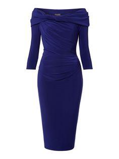 Pied a Terre Long sleeve slinky knot jersey dress http://shop.pixiie.net/pied-a-terre-long-sleeve-slinky-knot-jersey-dress-azure/