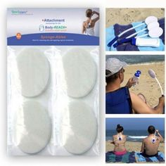 Replacement Sponge-Ables 8-Pack for use with the Body-Reach+ Bendable Lotion Applicators by Body Reach -- Awesome products selected by Anna Churchill