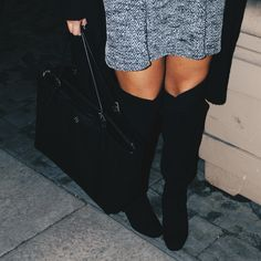 Knee high boots are a MUST have this fall.