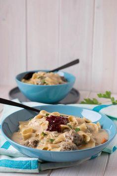 Schwedische Fleischbällchen Suppe