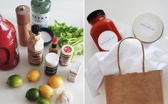 DIY Bloody Mary Kit | 8 Simple DIY Gift Ideas