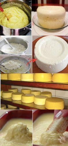 COMO FAZER QUEIJO CASEIRO COM APENAS 3 INGREDIENTES E VOCÊ TEM TUDO EM CASA!!!!! #queijocaseiro #queijo #comofazerqueijo