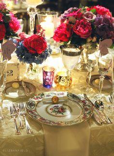 Antique royalty #blisschicago #weddings #florals #glassware #china