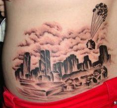 Up | 35 Wonderful Tattoos For Disney Fan(atic)s