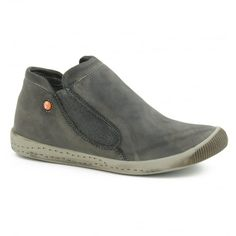 Softinos Inge - Millitar Green Washed Leather