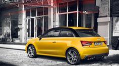 #AudiS1 #Audi #S1 #yellow #sport #car Audi A1, Sport, Cars, Yellow, Automobile, Deporte, Sports, Autos, Car