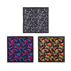 Mix and match the Be The Boss Zumba Bandanas 3 Pack to compliment your own YOU-nique style.