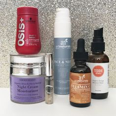 I've got some pretty awesome products to share with you. These products  have helped my hair game and my skin game so much!  Schwarzkopf OSiS+Mattifying Powder: I first heard about this product from  Jessie James Decker in one of her hair tutorial videos (not this exact  powder, but learned a