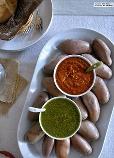 Receta de picoteo - Kleines Dankeschön Geschenk Light Pasta, Hot Sauce Recipes, Sauces, Deli Food, Mexican Food Recipes, Ethnic Recipes, Mediterranean Recipes, Light Recipes, Chutney