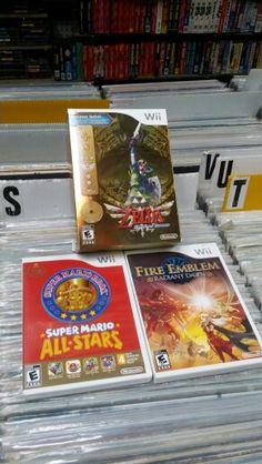 Nintendo wii video games