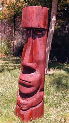 barney West Moai