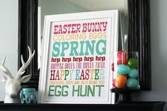 12 fun and free Easter printables!