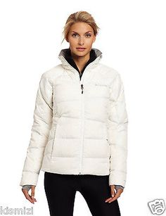 "NEW WOMENS COLUMBIA ""Madraune"" OMNI-HEAT DOWN WINTER JACKET COAT NWT."