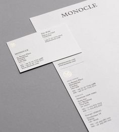 Monocle – Design & Art Direction Ken Leung