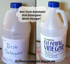 My Lamp is Full: Can You Wash Dishes With Plain Vinegar?