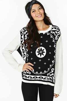 Insight Mystic Bandana Sweater