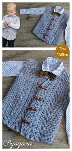 This Adorable Baby Vest Free Knitting Pattern is a cool way for your baby to stay warm. Make one with the free pattern provided below! Baby Knitting Patterns Free Newborn, Tea Cosy Knitting Pattern, Free Knitting Patterns For Women, Baby Cardigan Knitting Pattern Free, Sweater Patterns, Sock Knitting, Knitting Tutorials, Knitting Machine, Vintage Knitting