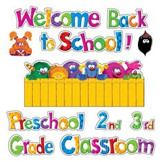 Trend Enterprises Inc. - Furry Friends Welcome Phrases Mini Bulletin Board Set on sale now! Get more classroom supplies for your budget at DK Classroom Outlet. Bulletin Board Sets, classroom decorations, and more. Classroom Supplies, Classroom Themes, Monster Classroom, Welcome Students, Board Decoration, 2nd Grade Classroom, Price Sticker, Best Teacher, Grade 1