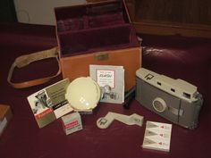 Vintage Polariod Land Camera With Beautiful Case. by MountainShine, $75.00