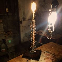 """Spine of the Prince"" Lamp https://www.etsy.com/shop/CatacombCulture"