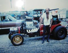 'Wild Willie' Borsch & his AA Fuel Altered