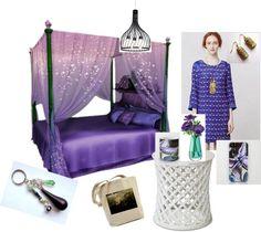 FASHION DESIGN CREATIVITY : Sleep like a princess - the canopybed