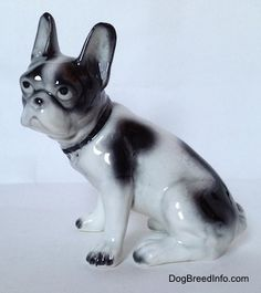 Collectable Vintage French Bulldog Dogs