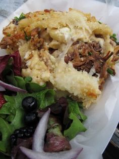 Brisket Stuffed Mac and Cheese : Recipes : Cooking Channel