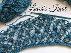 How to Crochet the Solomon's Knot (Lover's Knot) Scarf and Shrug The Solomon's knot (also known as the lover's knot) is a beautiful crochet stitch that works up fairly quickly. It is a looser stitch which aids in the speed of how fast this goes and when made into a clothing piece like a shawl …