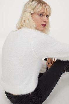Feinstrick-Cardigan - Weiß - Ladies | H&M DE 3