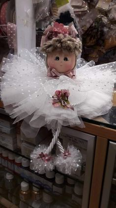 Christmas Ornament Crafts, Christmas Angels, Christmas Projects, Christmas Diy, Diy And Crafts, Christmas Crafts, Fairy Crafts, Doll Crafts, Diy Doll
