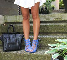 """A Fashion Love Affair"" blogger Cara Jourdan in the Jillian heel by ShoeMint"