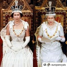 She's gotten more queenly as she's aged Royal Tiaras, Royal Jewels, British Crown Jewels, George Vi, Princess Diana Family, British Royal Families, Her Majesty The Queen, Royal Life, Queen Of England