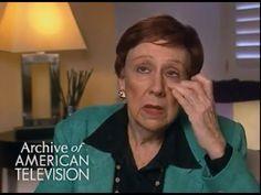 Jean Stapleton discusses Edith's death.  Sometimes our characters seem so real it is hard to let them go.