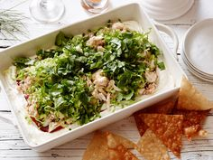 Layered Crab Rangoon Dip Recipe : Food Network Kitchen : Food Network - FoodNetwork.com