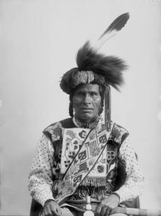 Midwewinind (aka One Called From A Distance) - Ojibwa – 1894