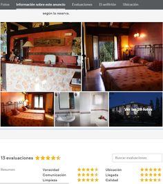 Excelentes evaluaciones como anfitriones de nuestro hotel en una de las mejores web de reservas de habitaciones o casas: @airbnb  Una razón mas para que te alojes en  www.hoteldonasancha.es