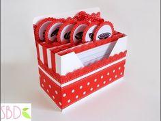 ▶ Scrapbooking: Scatola porta ricette - Receipes Box - YouTube