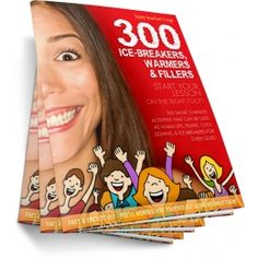 Busy Teacher's Top 300 Ice-Breakers, Warmers & Fillers.  Grab your copy right now - you'll ❤ it!   Only $9.99