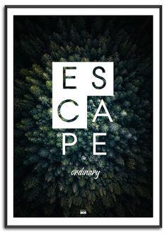 Escape plakat