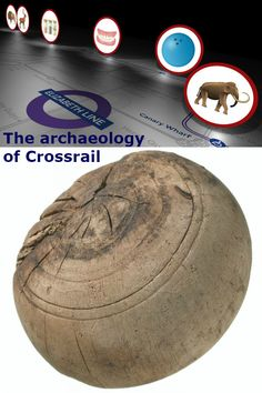 What will be the archaeological legacy of the Crossrail excavations? Commute To Work, Skate Style, Animal Bones, Bowling Ball, How To Start Running, Skates, Skeletons, Public Transport, Tudor