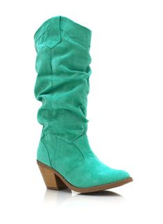 faux suede cowgirl boots