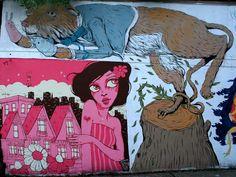 Lower Haight mural update.