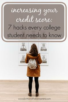 A better credit score could save you tens of thousands of dollars or more over the course of your life, which is why it's such an important number. Here are 7 hacks to get a jump start to make sure you earn a good one. Credit Score I College I Graduate I What Is Credit Score, Free Credit Score, Fix Your Credit, Improve Your Credit Score, Apply For A Loan, Best Interest Rates, College Students, Scores, Personal Finance