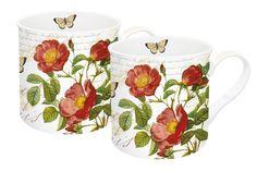 Zestaw 2 kubków z porcelany NUOVA R2S - DECO Salon || #cups #set #porcelain #coffee #tea #kicthenaccessories #giftidea