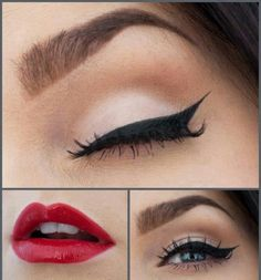 Make up idea for my rockabilly outfit for the big party!